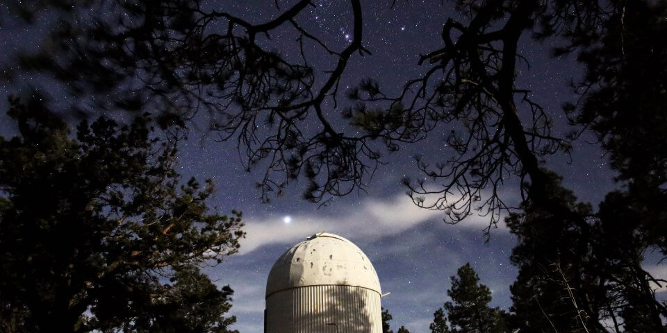 The Lowell Observatory is one of the best places for stargazing in Arizona.