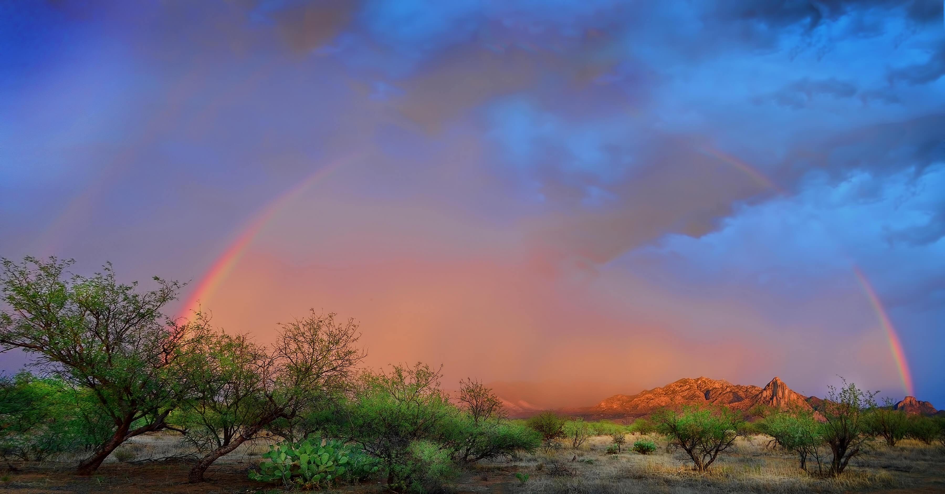 10 of arizonas most beautiful rainbows