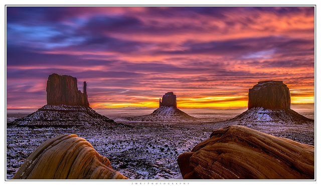 Monument Valley provides for some of the best images of Arizona.