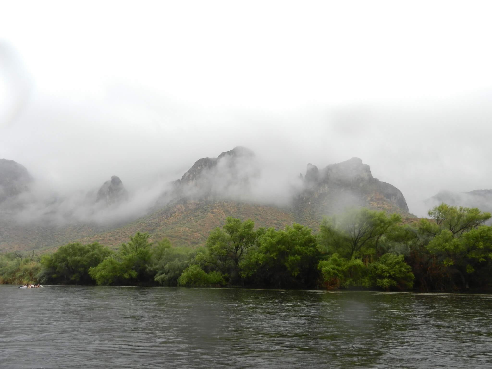 Fog over the river. Flickr User Jeff Kucharski