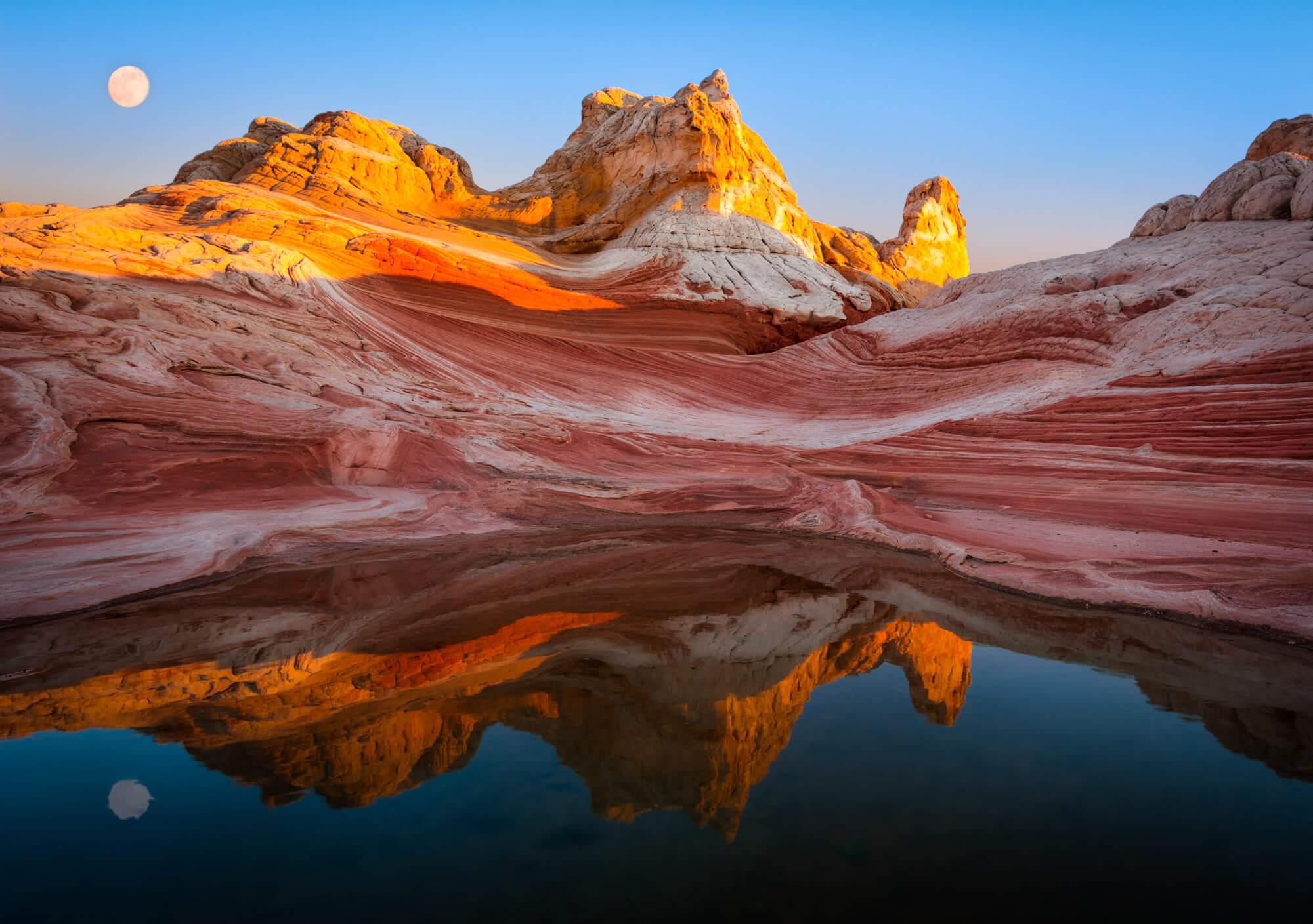 White Pocket in the Vermilion Cliffs Flickr User Peter Boehringer