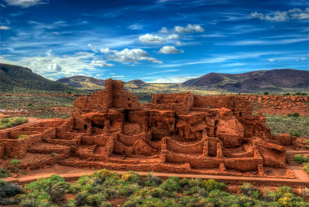 The Wupatki National Monument. Flickr User Wayne Stadler