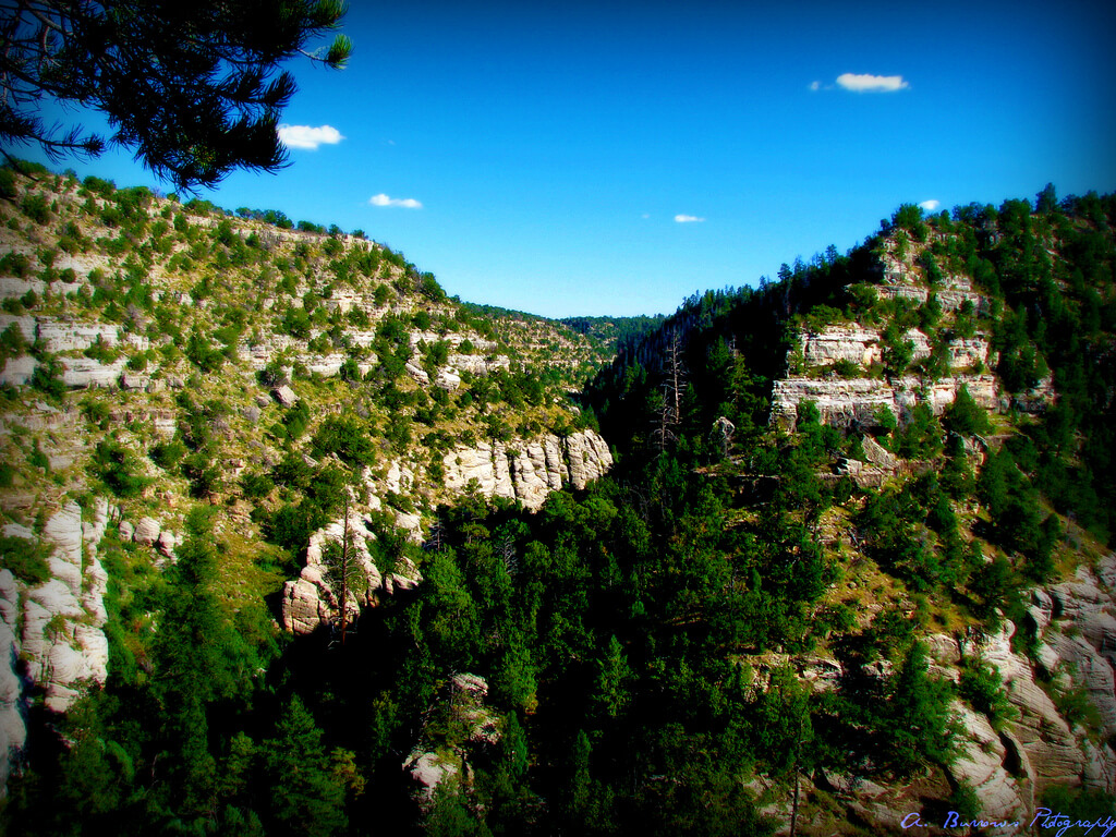 Walnut Canyon National Monument. Hiking is one of the many things to do in Flagstaff.  Flickr User A. Burrows