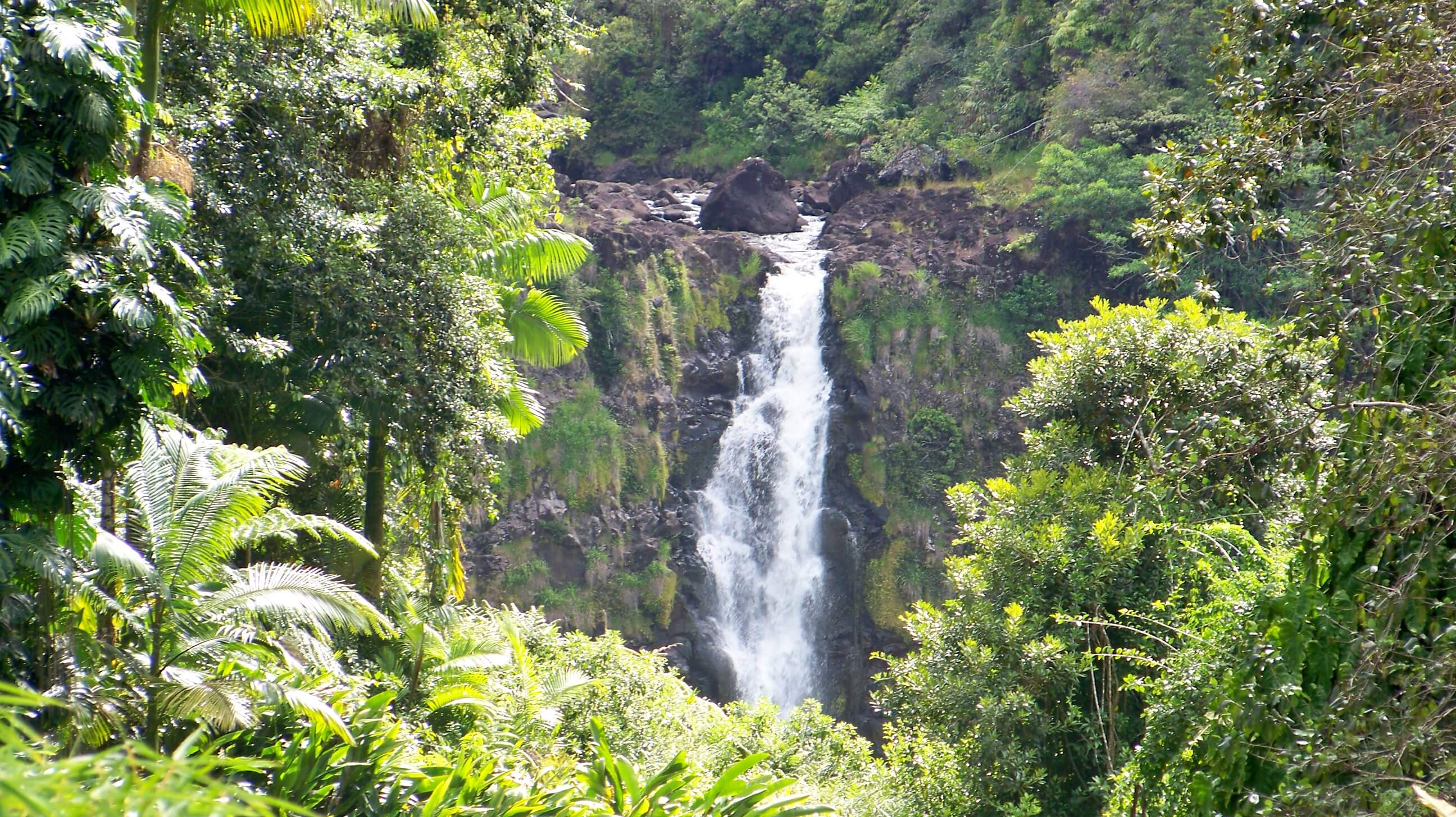 Kahuna Falls in Hawaii. Flickr User Colonel Max