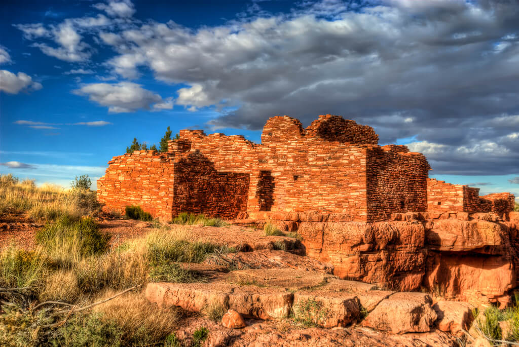 Citadel Pueblo and Lomaki Pueblo Flickr User Wayne Stadler