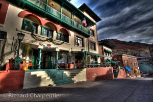 The Copper Queen Hotel. One of the many haunted hotels in Arizona.  Photo by: Richard Charpentier