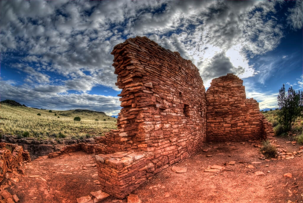 The Wuptaki National Monument ruins. Flickr User Wayne Stadler