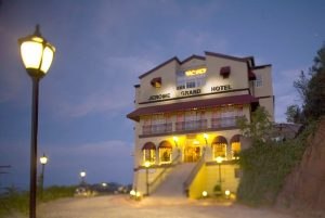 The Jerome Grand Hotel. One of the most haunted hotels in Arizona. Photo by: Mark Lipczynski