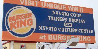 This Burger King in Arizona Has a Navajo Code Talkers Exhibit