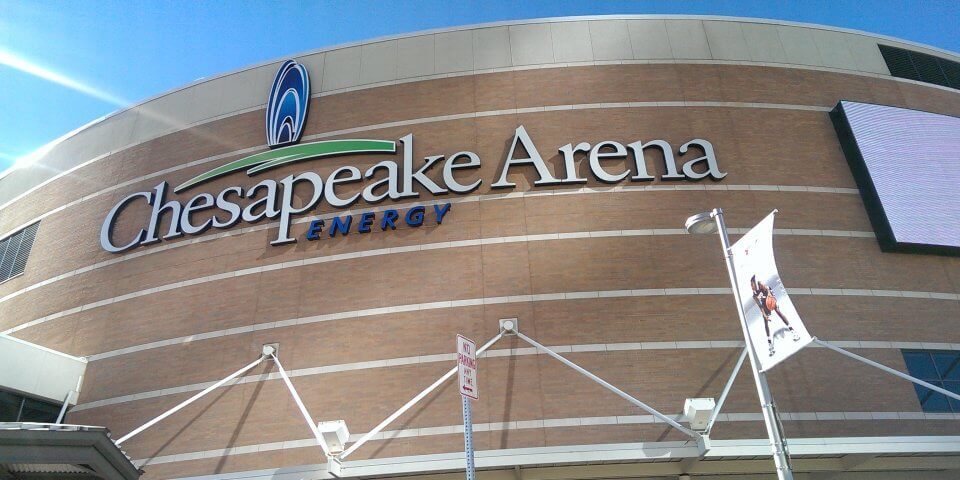 Chesapeake Energy Arena - Photo by Paul L. McCord Jr.
