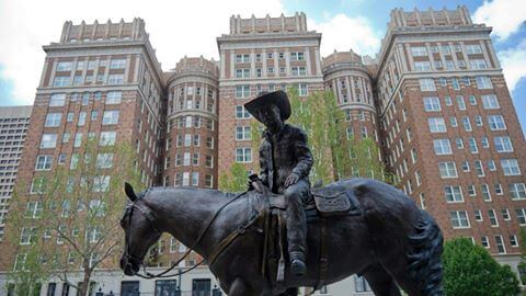 The Old Cowboy Downtown