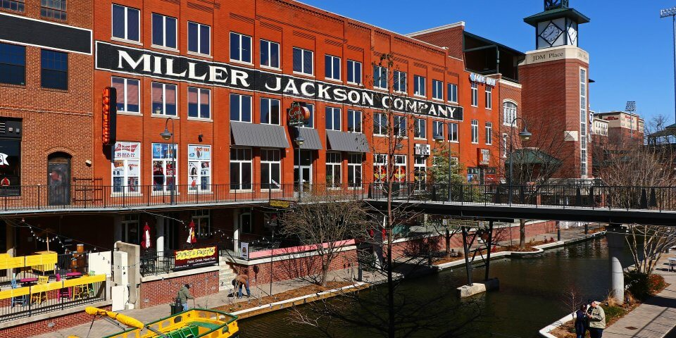 Along the Bricktown Canal - Photo by Victor Hamberlin