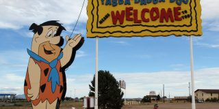 Be a Kid Again at the Flintstones Bedrock City Theme Park In Arizona