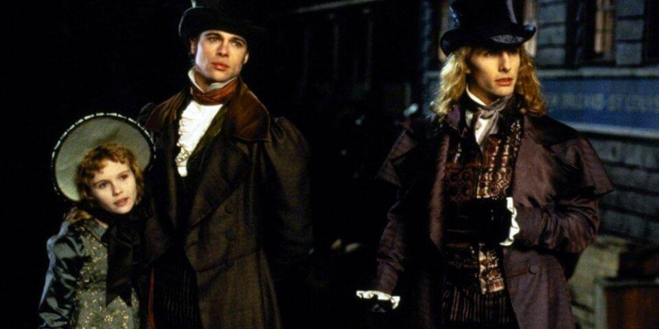 Interview with the Vampire starring Brad Pitt and Tom Cruise - 1994