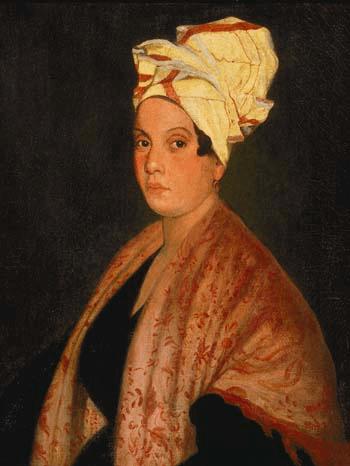 Portrait of Louisiana Voodoo queen Marie Laveau. by Frank Schneider