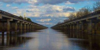 Ever Driven Across the 18.2 Mile Atchafalaya Basin Bridge?