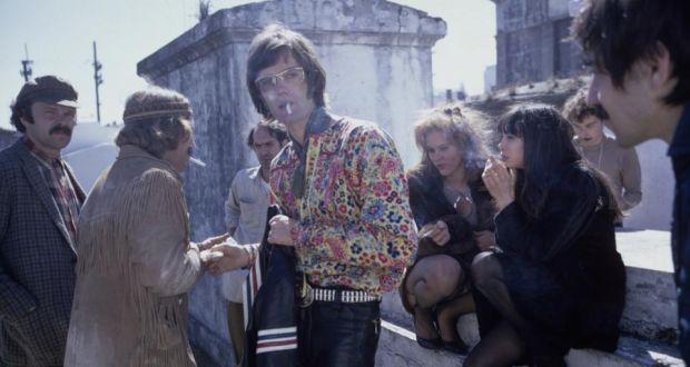 Easy Rider Starring Peter Fonda, Dennis Hopper and co-starring Jack Nicholson - 1969
