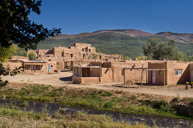 Taos Pueblo, New Mexico - Photo by Sienna62