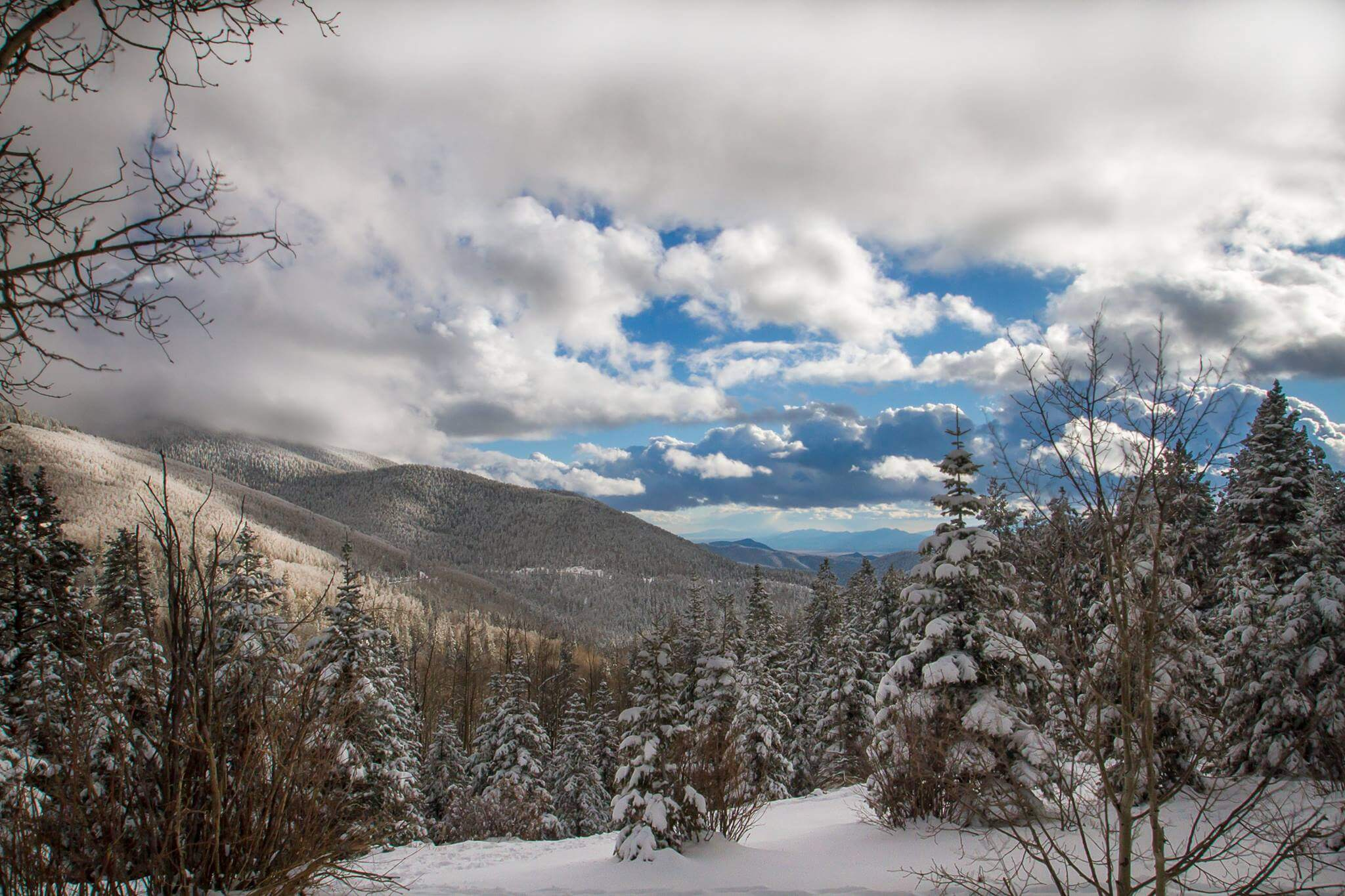 Sangre de Cristo Mountains, Santa Fe - Photo by DeeAnn Chavez