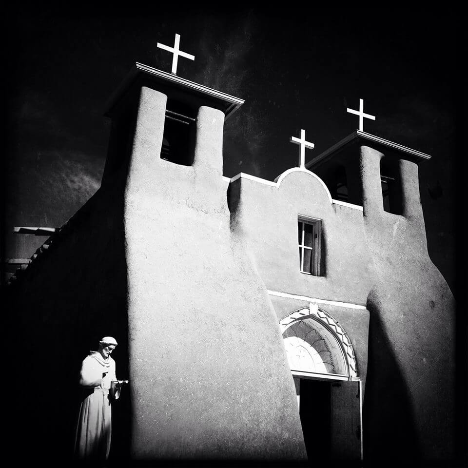 San Francisco De Asis Mission Church in Taos, New Mexico - Photo by Jack Webb