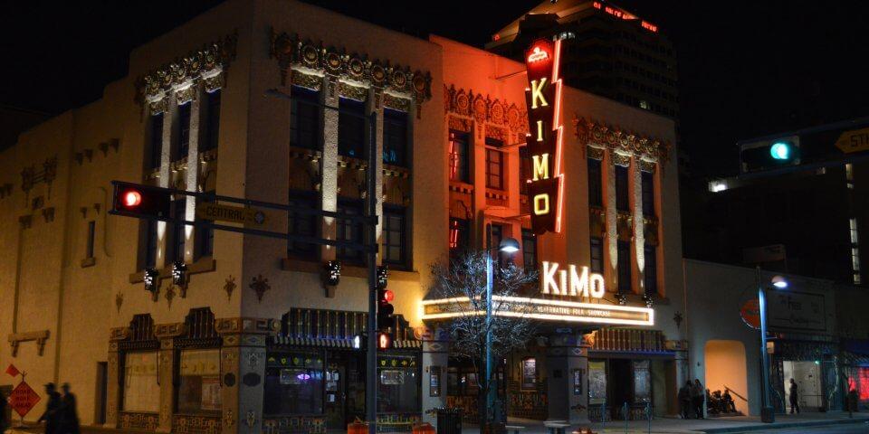 KiMo Theatre n Albuquerque, New Mexico.