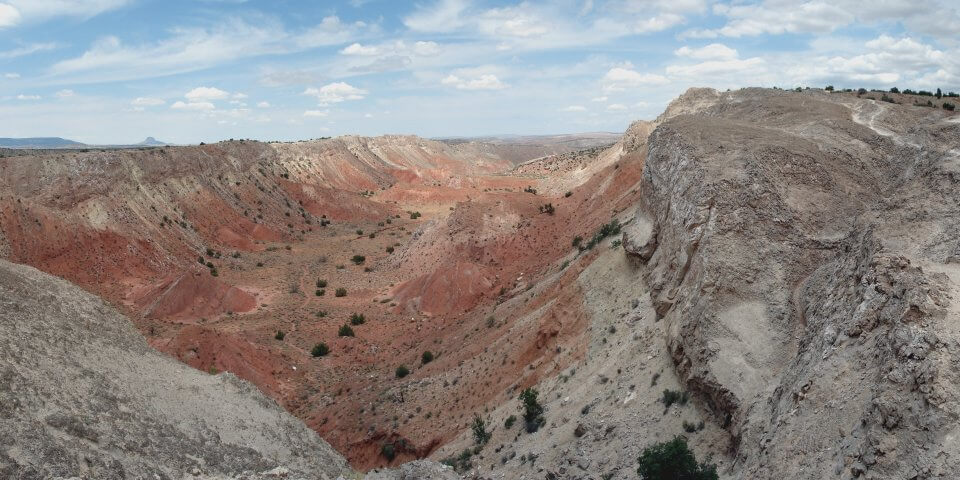 White Mesa near San Ysidro, New Mexico - Photo by Philip Moseley