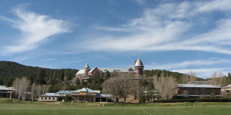 Montezuma Castle in New Mexico.