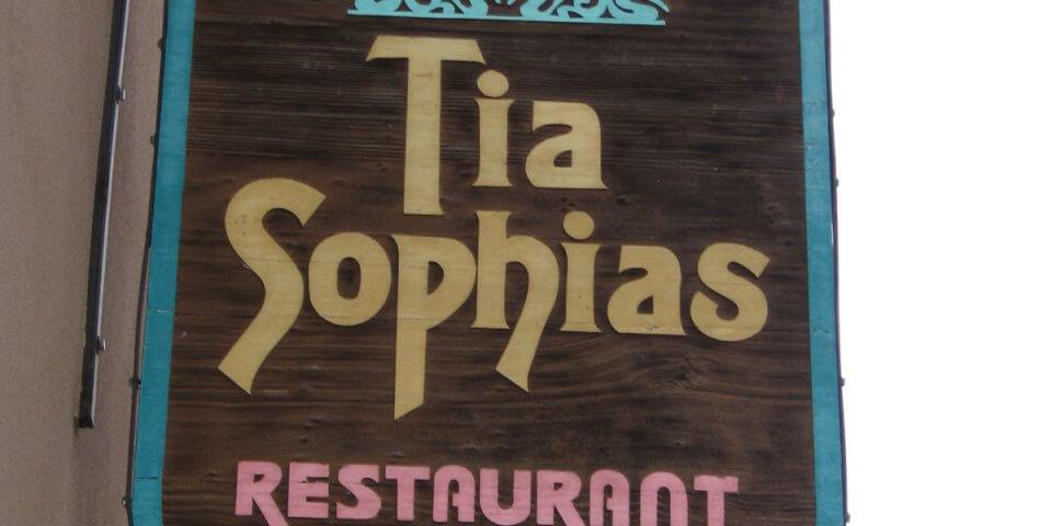 Tia Sophias Restaurant in Santa Fe, New Mexico - Photo by Howard SD