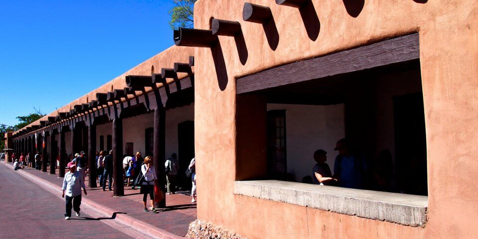Palace of the Governors in Santa Fe, New Mexico - Photo by Geoff Livingston