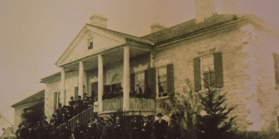 In the summer of 1885, veterans of the Union Army of the Shenandoah returned to a Virginia plantation called Belle Grove