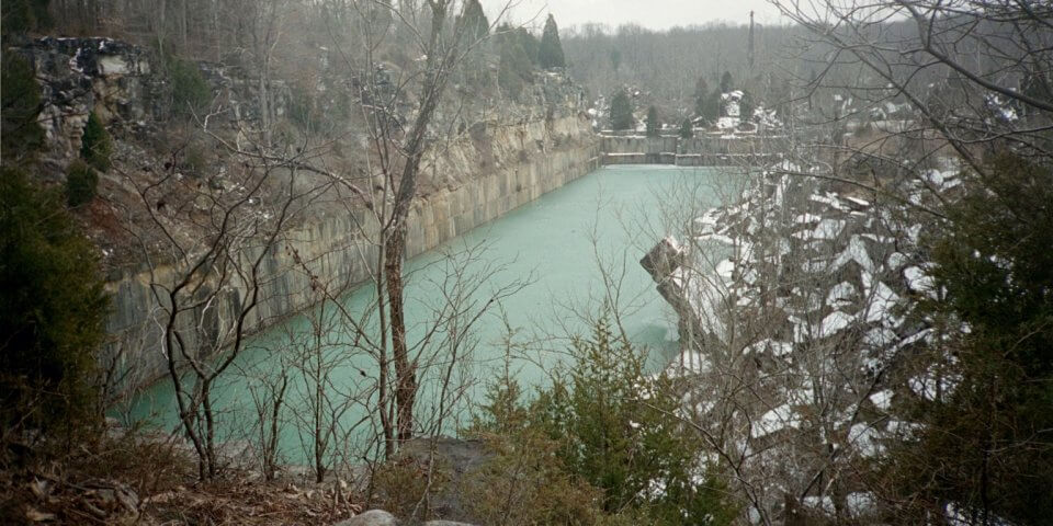 Sanders Quarry in Monroe County, Indiana