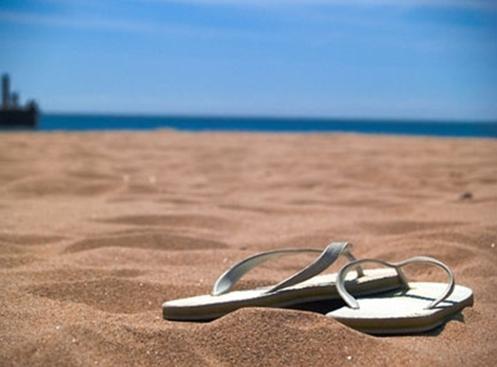 Beach Beautiful Flip Flops Ocean Sand Favim 202017 When In Your State