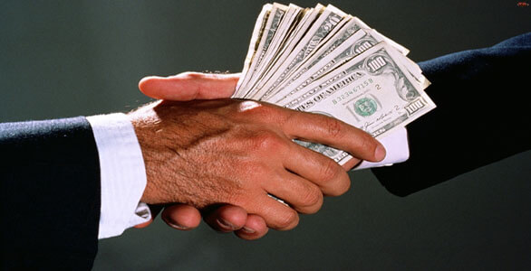 Bribery is illegal except for when involving candidates. One of the several weird Virginia laws. Courtesy of Google Images