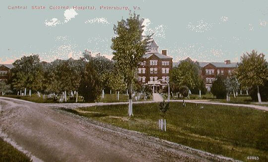 Central State Hospital - photo courtesy of roots web.ancestry.com