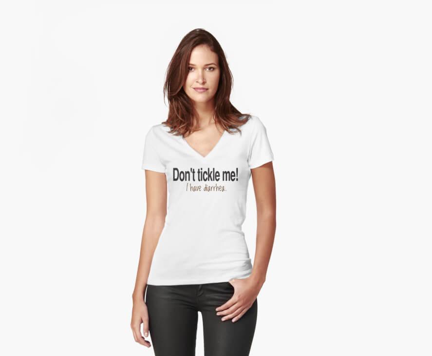 Don't Tickle Me! I Have Diarrhea. by BholdBrett