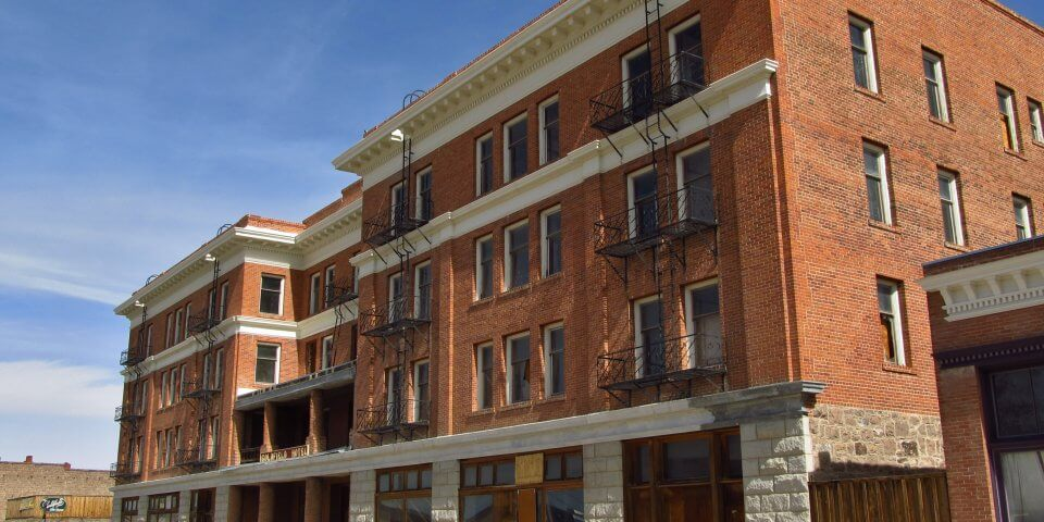 The Goldfield Hotel in Goldfield, Nevada is one of the most haunted places in Nevada. - Photo by Jasperdo
