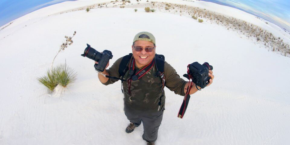 Photography in White Sands National Monuement - Photo by Julio Bulnes Photo