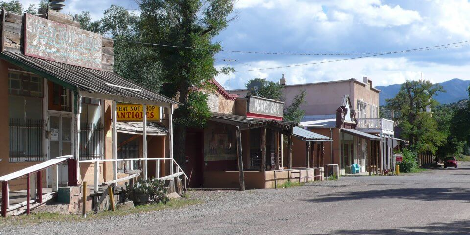 Cerrillos, New Mexico - Photo by Menno Van der Velde