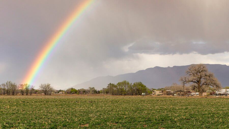 Los Poblanos Farms in Albuquerque, New Mexico - Photo by Grant Condit