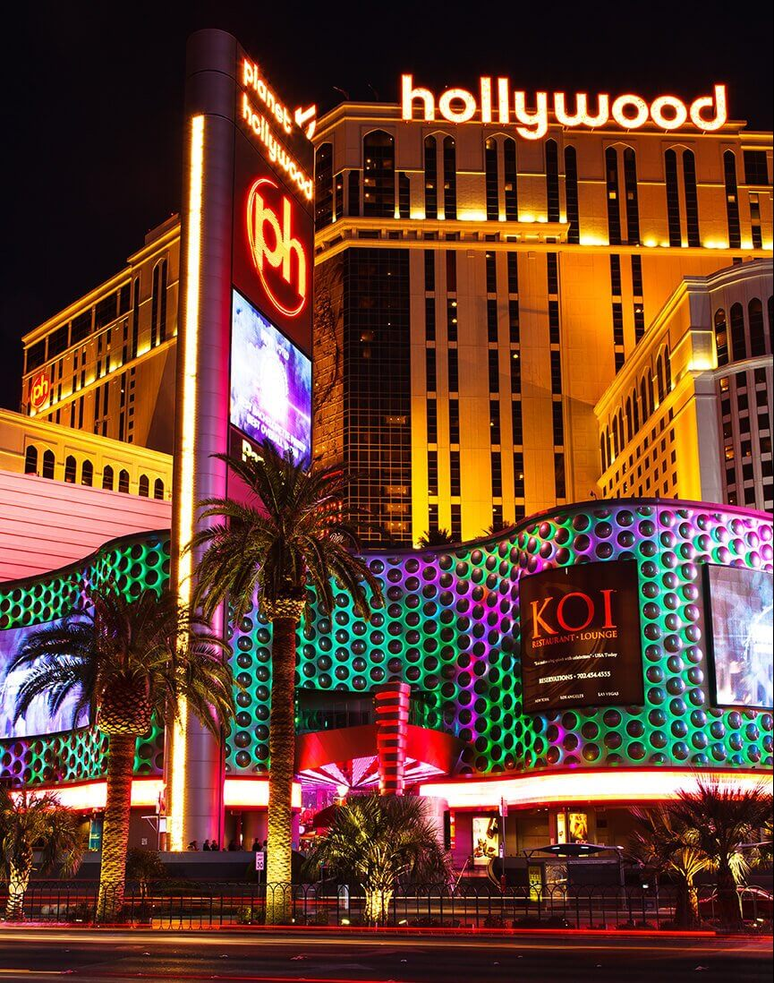 Planet Hollywood Hotel and Casino on the Las Vegas strip - Photo by James Marvin Phelps