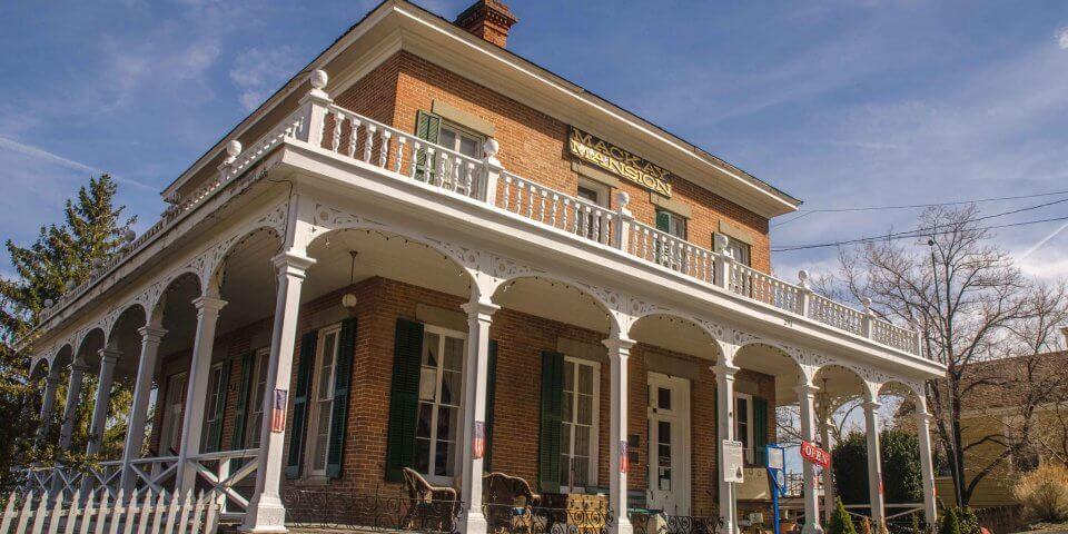 Mackay Mansion in Virginia City, Nevada - Photo by Wayne Hsieh