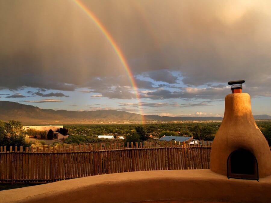 Corrales, New Mexico - Photo by Ken Hircock