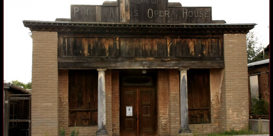 Pinos Altos Opera House. Pinos, Altos, New Mexico - Photo by Gary Tucker