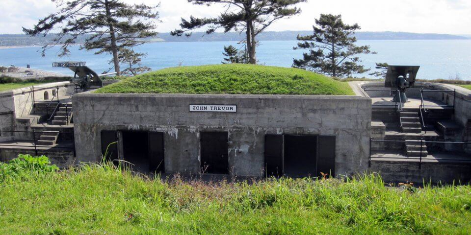 Fort Casey on Whidbey Island, Washington - Photo by Michael Lehenbauer