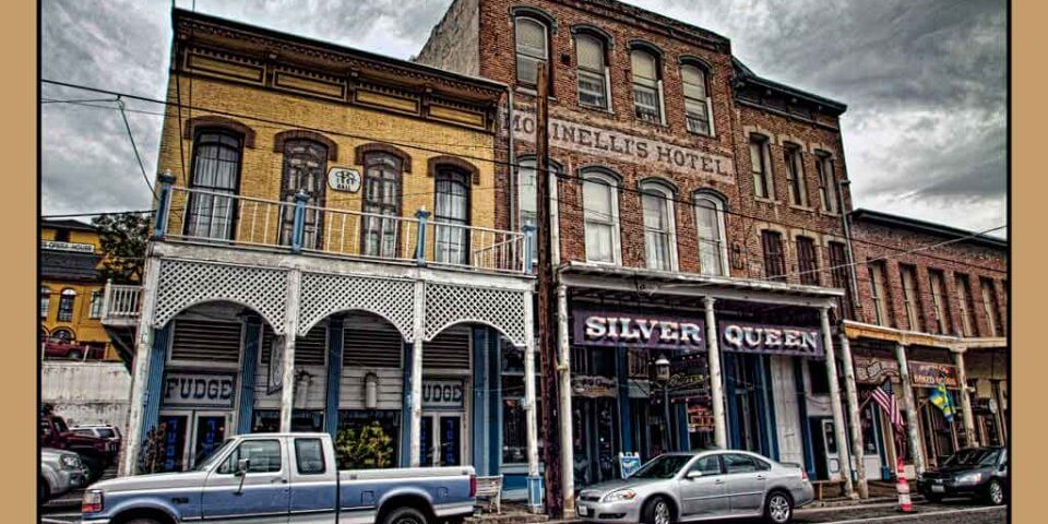 The Silver Queen Hotel in Virginia City, Nevada - Photo by Brent Cooper