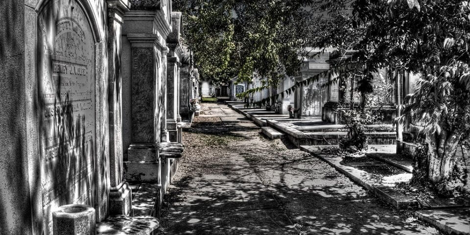 Lafayette Cemetery #1 in New Orleans, Louisiana - Photo by Kathy Hicks