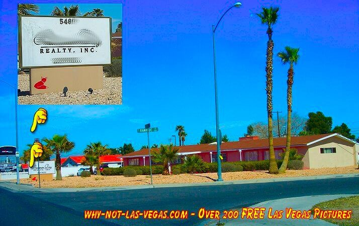 Redd Foxx's former house in Las Vegas, Nevada - Photo courtesy of Why-Not-Las-Vegas.com