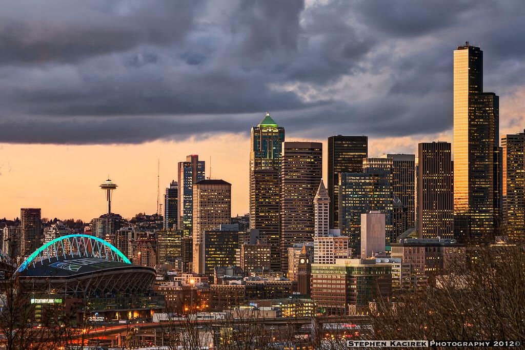 Downtown Seattle, Washington - Photo by Stephen Kacirek