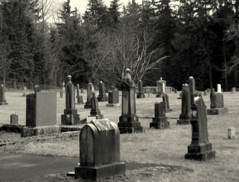 Black Diamond Cemetery in Black Diamond, Washington - Photo by Roni Greenwood