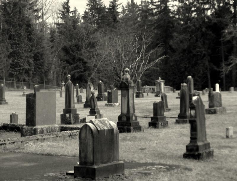 Black Diamond Cemetery in Black Diamond, Washington - Photo by Roni Greenwood